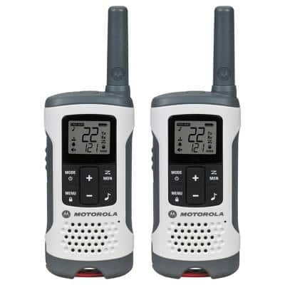 Home Depot - Motorola T260TP Rechargeable 2-Way Radio, White (2-Pack) $37.99 with 25 mile range - Other Motorola 2 and 3 pack walkie talkies also on sale - Close to all time lows