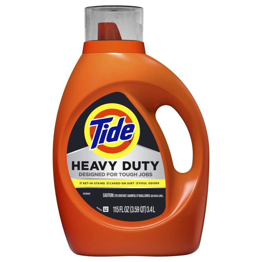Tide Heavy Duty 115 oz at Lowe's YMMV $4.67