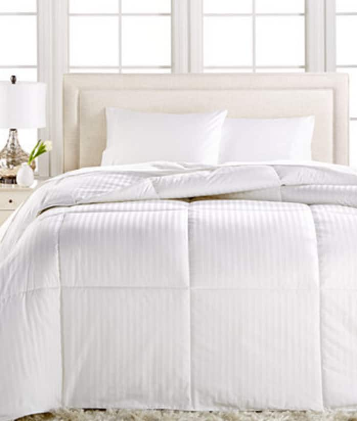 Down alternative comforter at Macy's- was $140 now $28