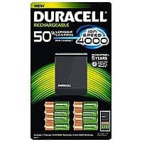 Sam's Club Deal: Duracell Precharged AA, AAA Batteries and Charger $20 at Sam's Club