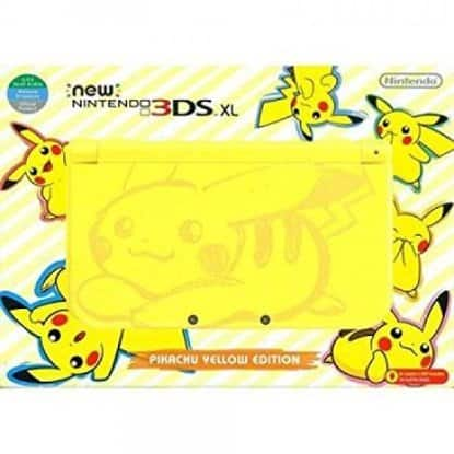 New Nintendo 3DS XL - Pikachu Yellow Edition $182 shipped Rakuten
