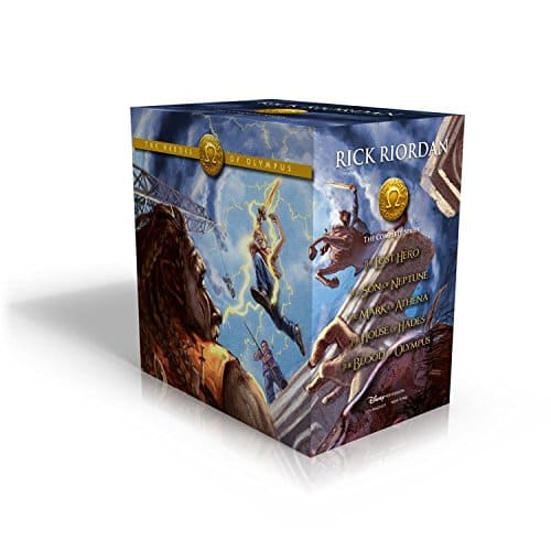 The Heroes of Olympus Boxed Set Paperback $11 Hardcover $26 at Amazon
