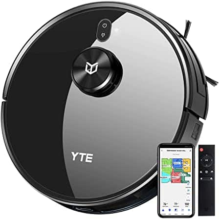 YTE Robot Vacuum with Lidar Mapping Technology, 2700Pa Strong Suction 110 $110