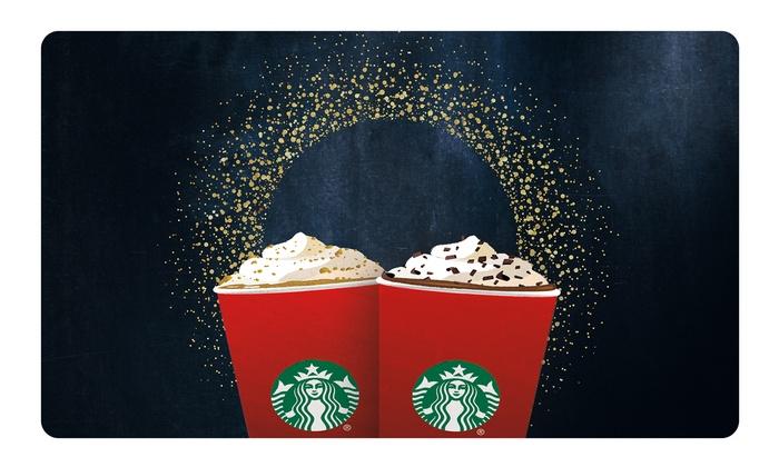 Starbucks - $10 eGift Card for $5 - Groupon YMMV
