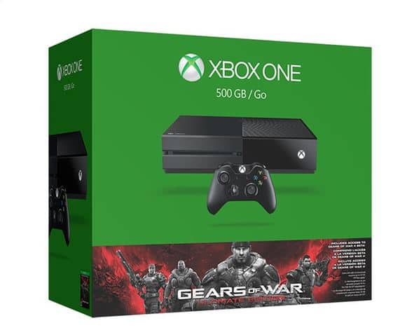 Xbox One 500GB Bundle with Gears of War: Ultimate Edition - Groupon - $314.99