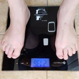 Etekcity Digital Body Weight Bathroom Scale With Skid Free Padding for $16.55 @Amazon