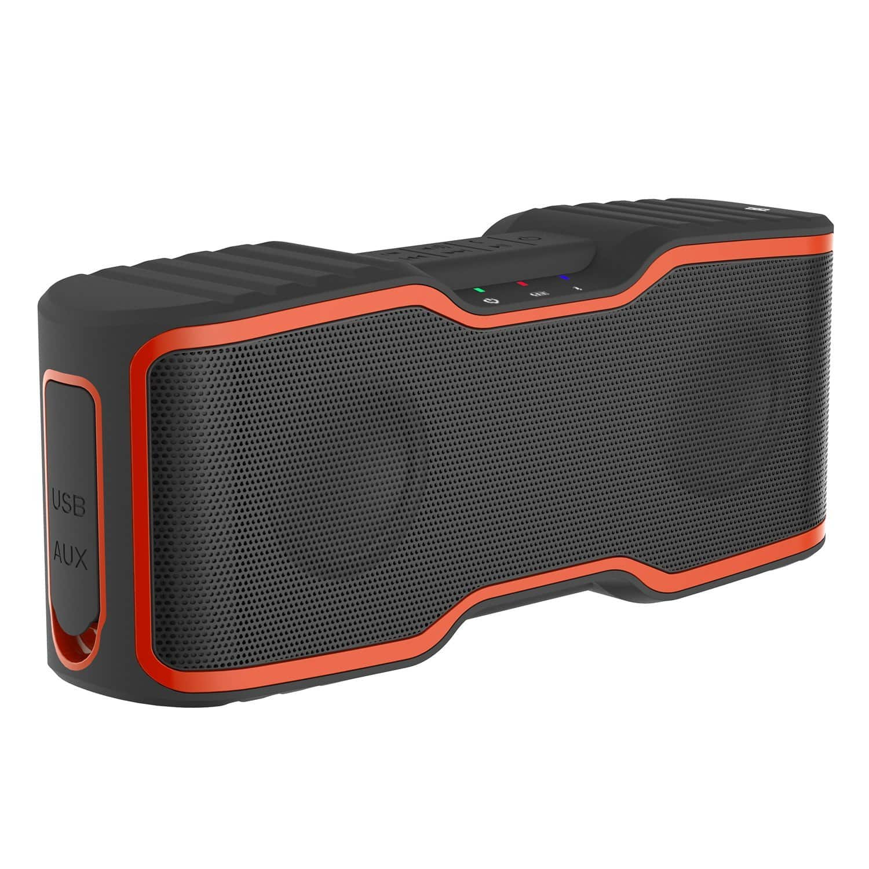 AOMAIS Sport Waterproof IPX7 Wireless Bluetooth Speakers for $29.99