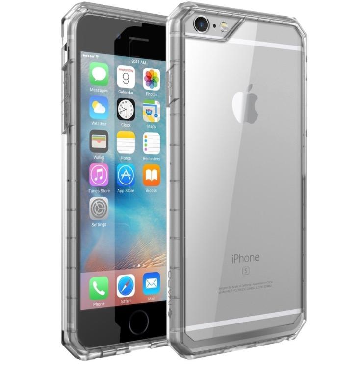 85% off iPhone 6s/6/6 Plus/6s Plus Case Clear Bumper Protective Durable Case - $1.95 AC+FS @Amazon