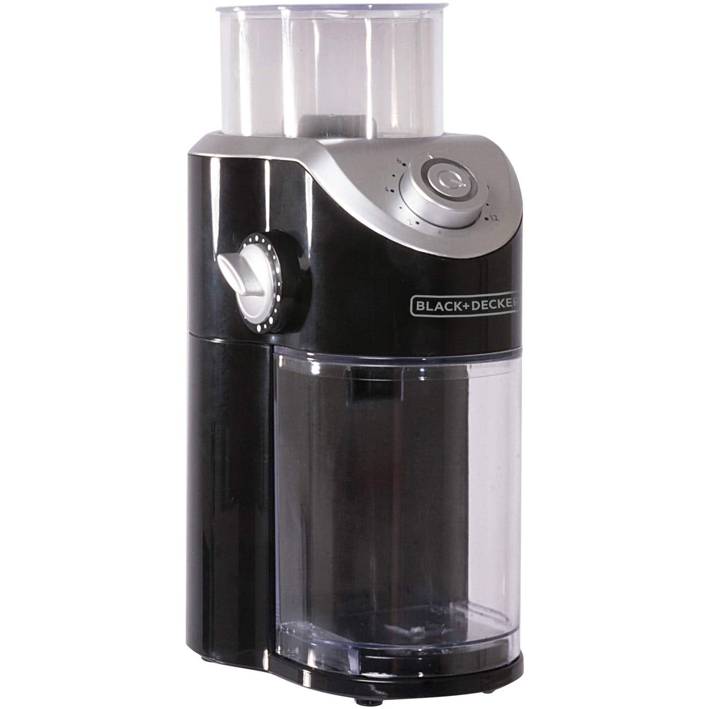 Walmart: Black And Decker Burr Mill Coffee Grinder $18.20 free in store pickup.