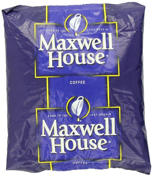 Maxwell House Ground Coffee, 32-Ounce $4.26 when ordering S&S with 5 items at Amazon.