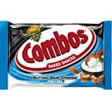 COMBOS Cheddar Cheese Cracker Baked Snacks 1.7-Ounce Bag 18-Count $7.51 Amazon Prime Pantry