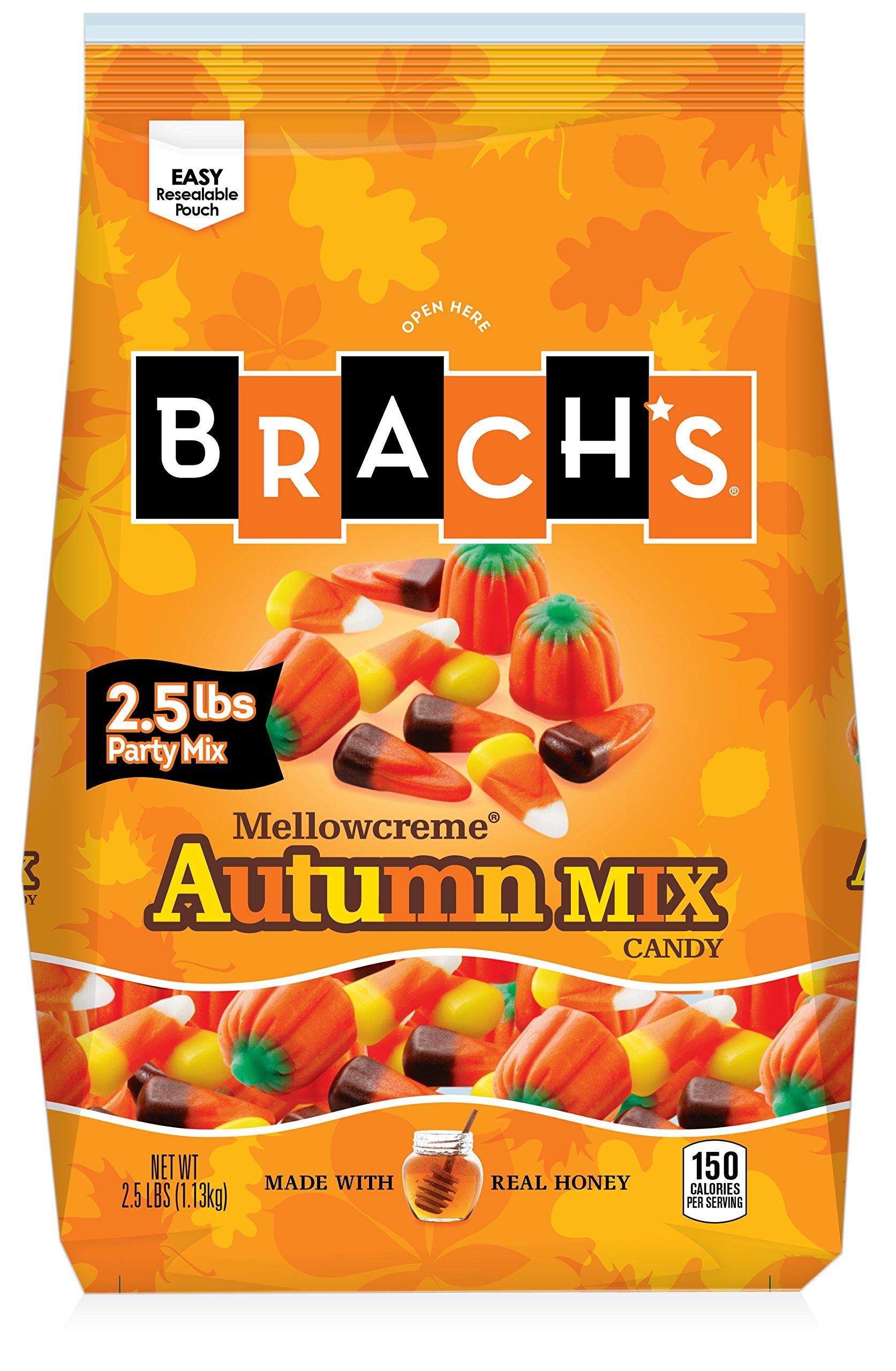 Brachs Halloween Autumn Candy Party Mix | 3 Pound Bag $9.50 Amazon Prime