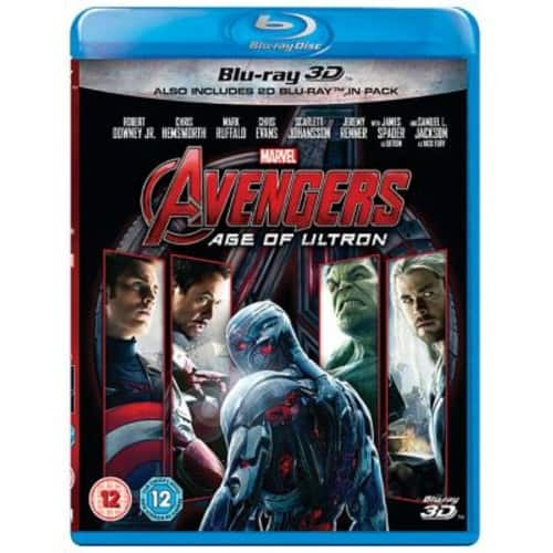 3D Blu-rays: Multiple Marvel Movies on Sale,  starting at $15.02 shipped