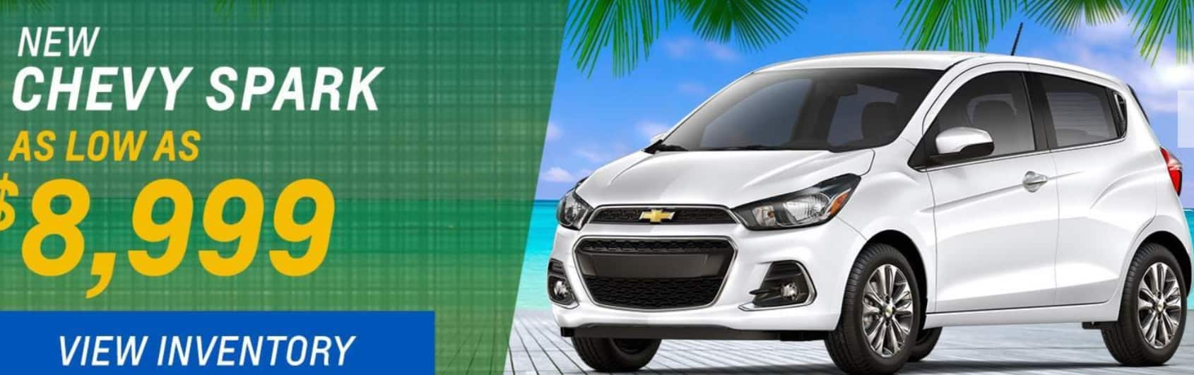 NEW 2017 Chevrolet Spark $8999 plus tax and all fee's