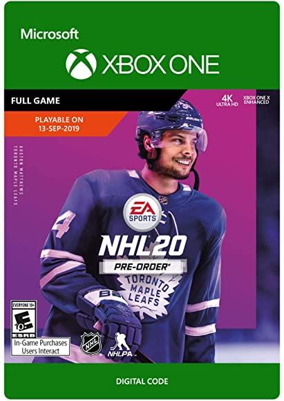 NHL 20: Standard Edition - Xbox One [Digital Code] $11.99