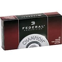 Cabelas Deal: Cabelas AMMO Federal Champion 9mm 115gr 50rd - $10.99 free store pickup