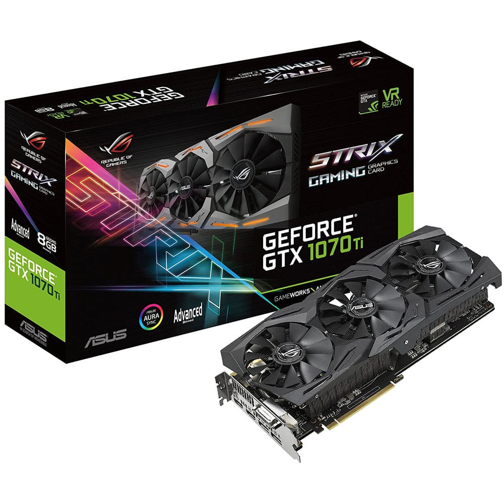 Asus GeForce GTX 1070 Ti 8GB GDDR5 $445 +FS w/Coupon (Less with Chase Freedom 5% CB)