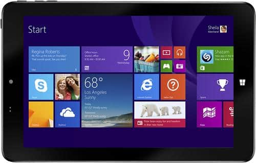 Insignia Tablet 8in Intel Atom 32GB Windows Tablet Cowboy $29.99 FREE Shipping..