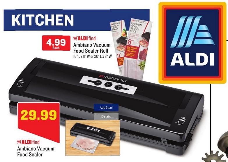 Kmart Vacuum Food Sealer Review