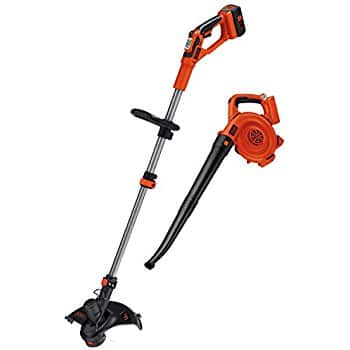 Black & Decker LCC140 40V MAX Cordless Lithium-Ion String Trimmer and Sweeper Combo Kit for $115.77