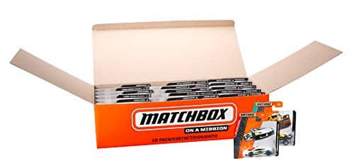 Matchbox Diecast 50 Car Pack (1:64 Scale) $29.99 Amazon
