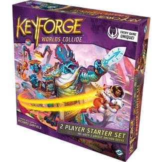 Target - KeyForge: Worlds Collide Two-Player Starter Card Game - $14.99