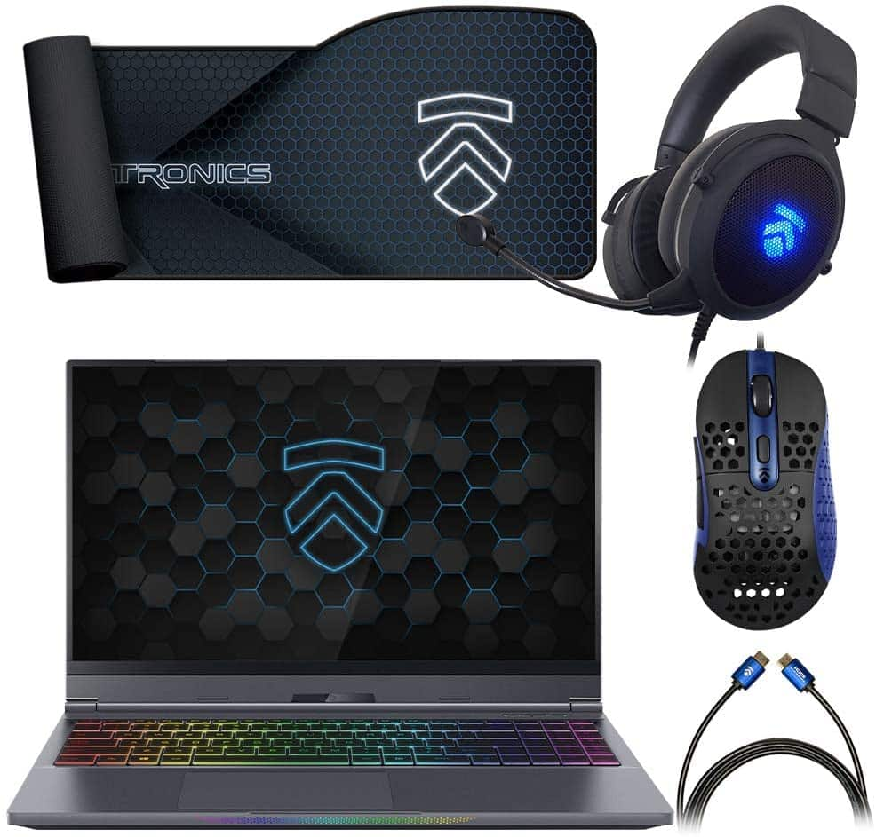 Eluktronics MAX-15 Covert Gamer Notebook PC: Intel i7-10875H 8-Core NVIDIA GeForce RTX 2080 Super 240Hz Calibrated FHD IPS W10 Home 512GB NVMe SSD 16GB DDR4 RAM $1500
