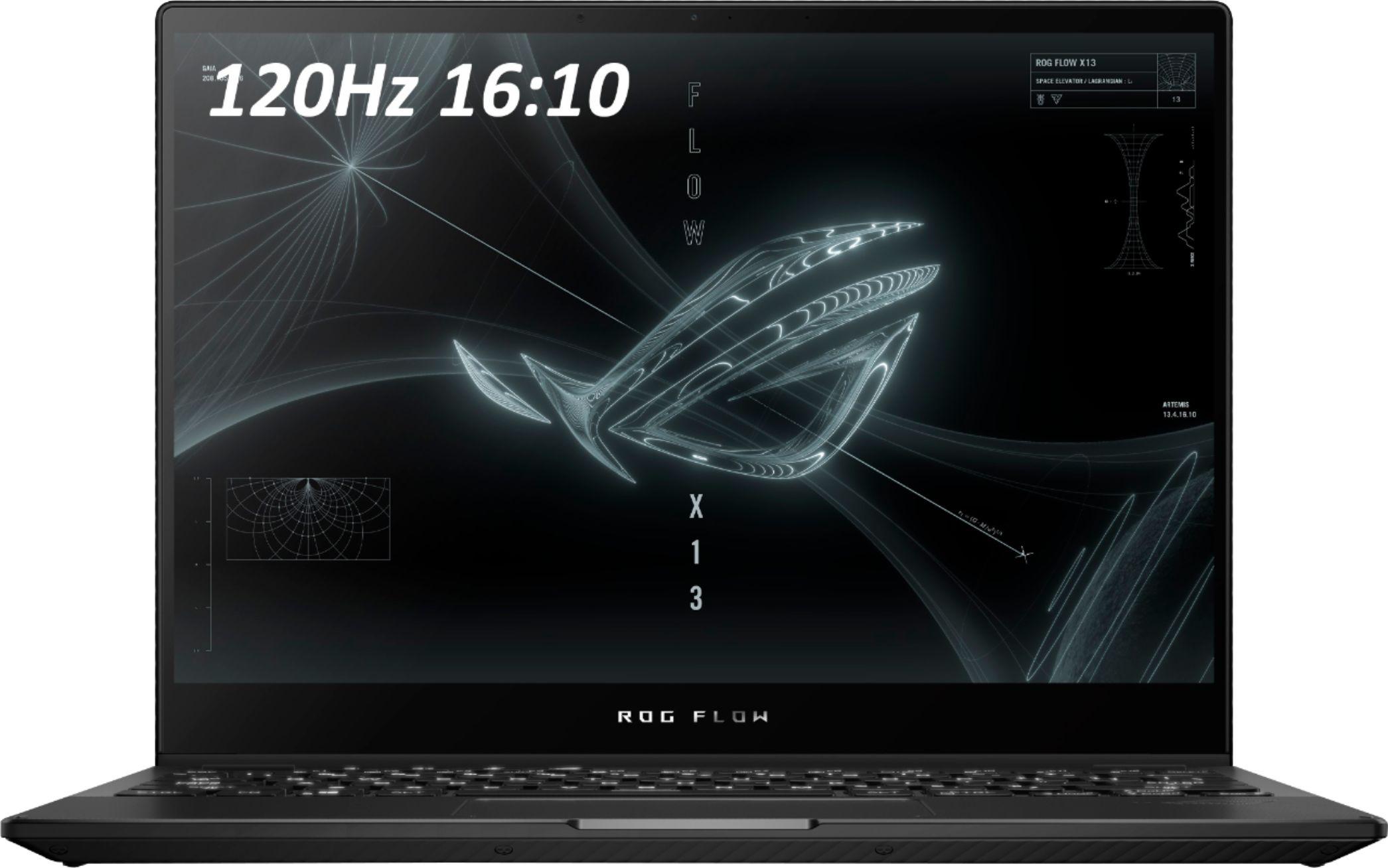 "ASUS - ROG 13.4"" Touchscreen Gaming Laptop - AMD Ryzen 9 - 16GB Memory - NVIDIA RTX3050 Ti V4G Graphics - 1TB SSD $1400"