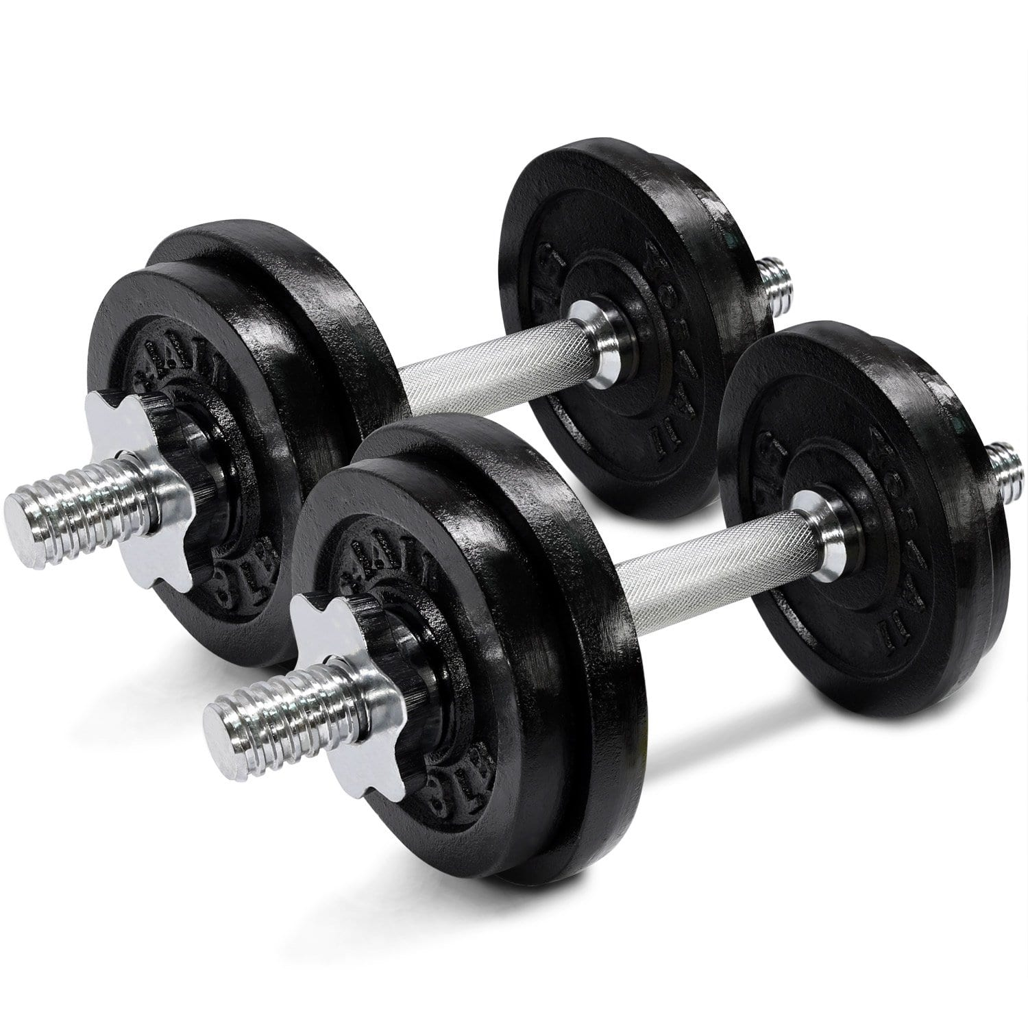 Yes4All Adjustable Dumbbells 40, 50, 52.5, 60 with Connector Options $64.99