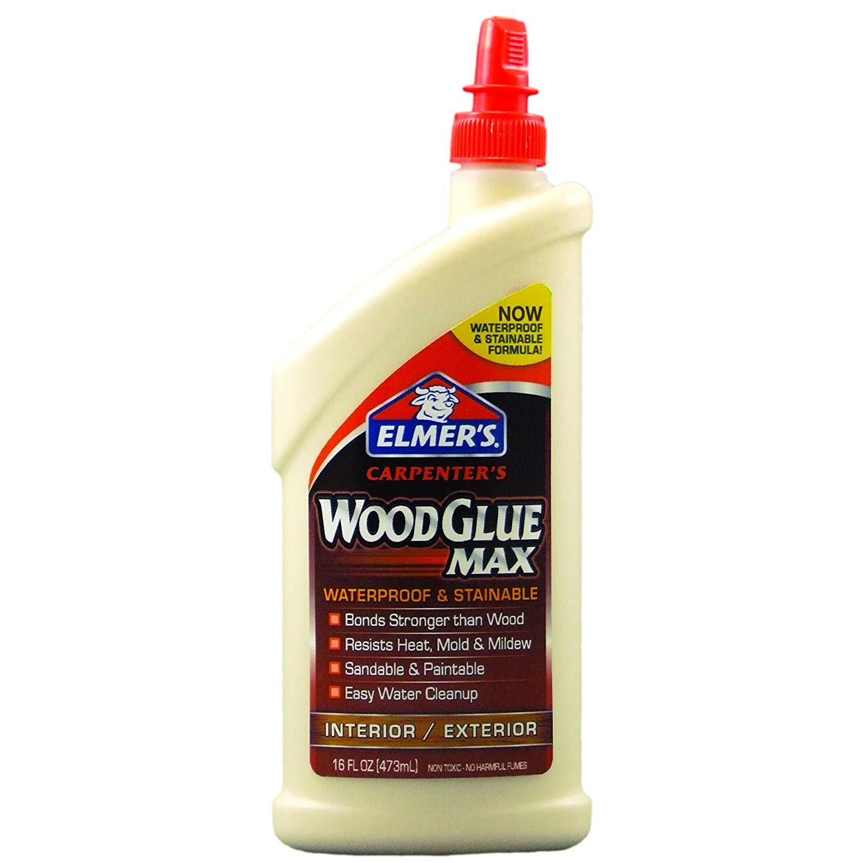 16 Ounce Elmer's E7310 Carpenter's Wood Glue Max, Interior/Exterior $5.32