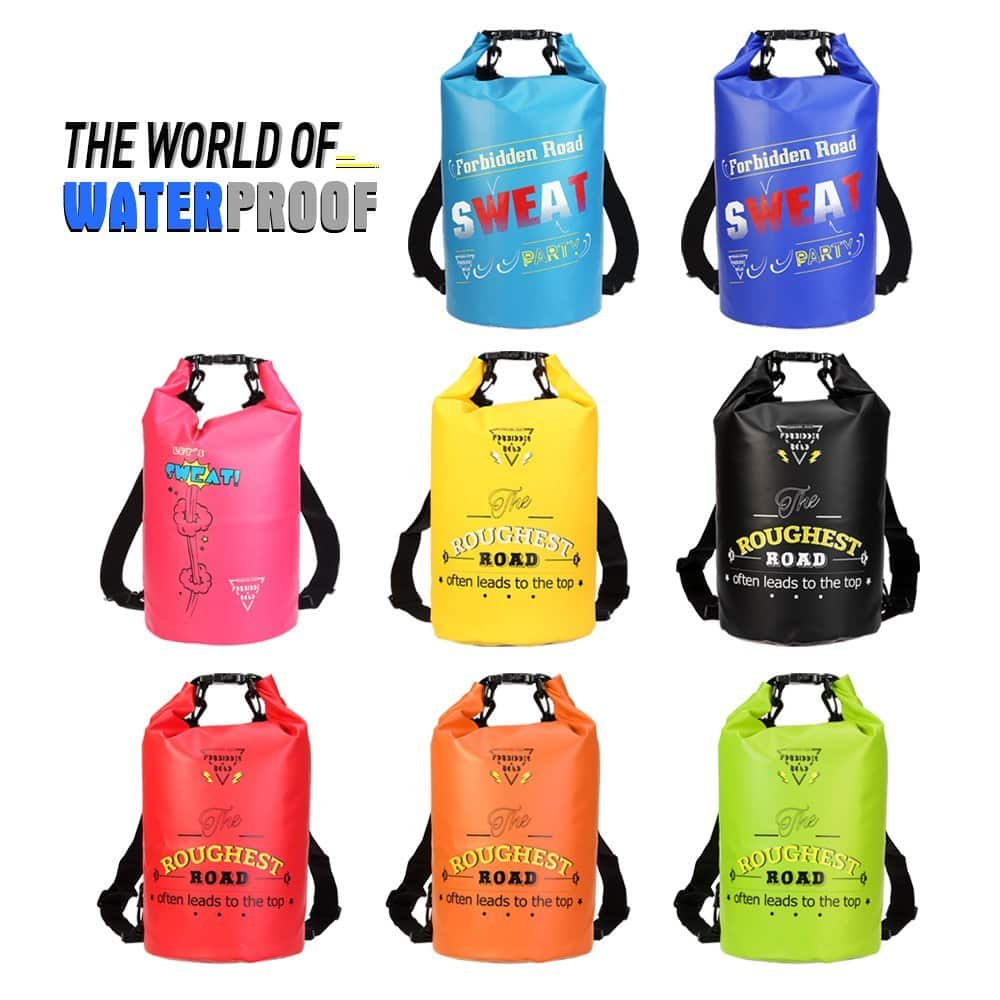 Amazon Forbidden Road 2L 5L 10L 15L Waterproof Dry Bag (8 Colors) $5.19 and up