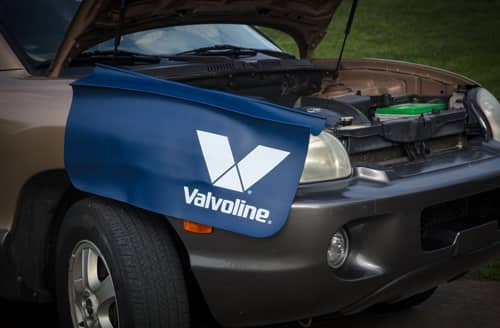 Free Valvoline Fender Car Cover for 2500 reward points