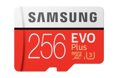 Uniday - Samsung Evo Plus 256GB MicroSDXC Memory Card $79.99