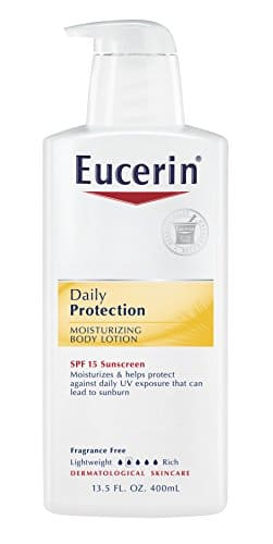 Eucerin Daily Hydration Broad Spectrum SPF 15 Body Lotion 16.9 Fluid Ounce (Pack of 3) Amazon S&S $5.54 (Edit - Add On only now for $6.52)