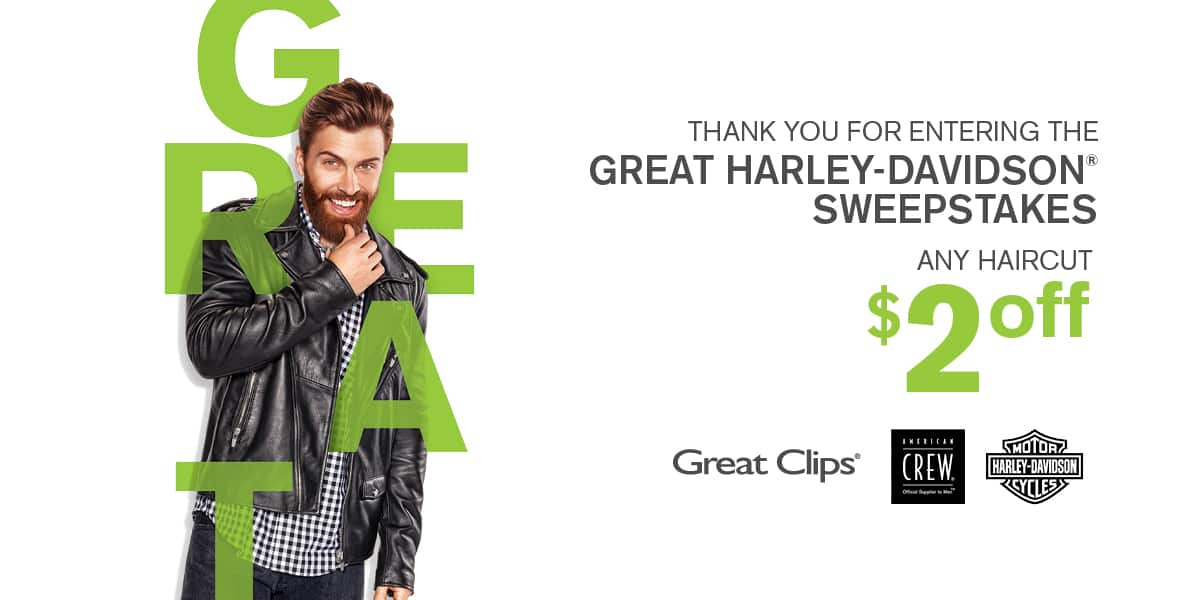 Great Clips Coupon $2 off at Select Locations