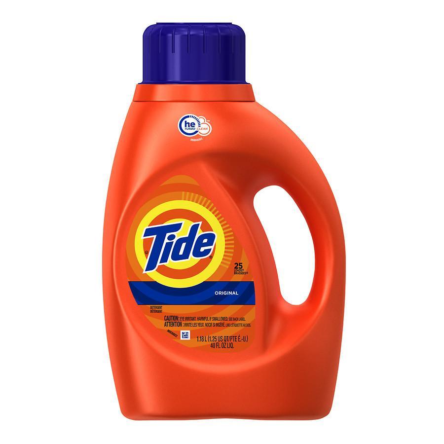 40-Oz Tide HE Original Liquid Detergent $3 + Free Store Pickup