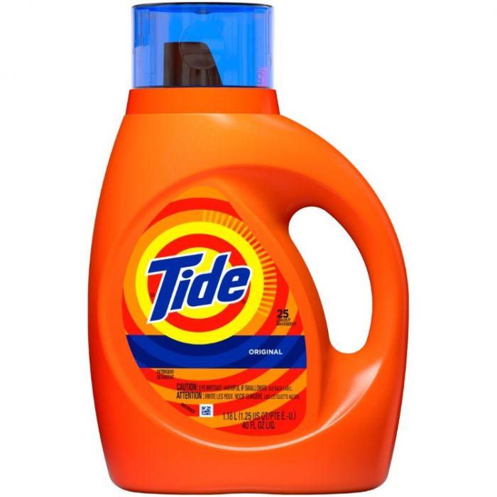 40-Oz Tide HE Original Liquid Detergent $3 & More + Free Store Pickup