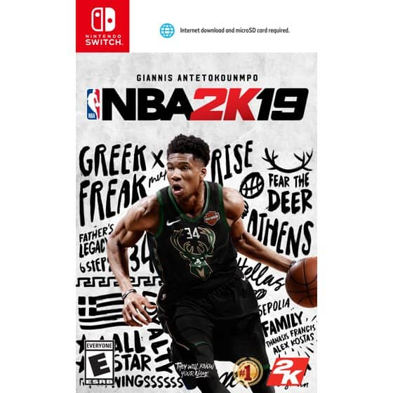 NBA 2K19 for Nintendo Switch at Nintendo eShop (Digital) $19.79