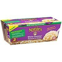 Amazon Deal: Annie's Microwavable Mac and Cheese Cup 4.02 oz. pack of 6   HOT PRICE Less than $7 S&S