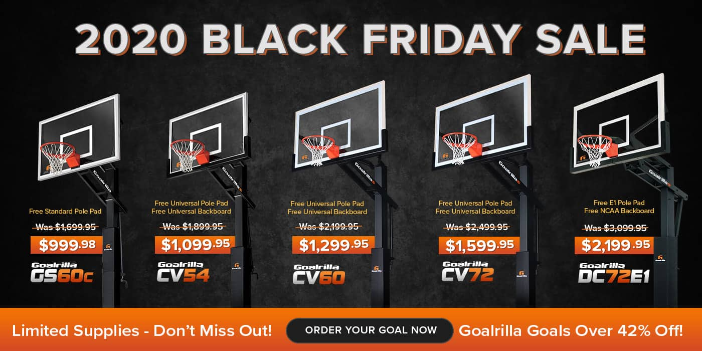 Goalrilla Goals Starting at $999.98 + $200 for shipping, best deals I've seen all year