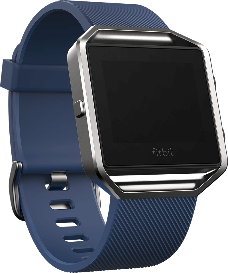 Fitbit Blaze Smart Fitness Watch - Blue S/L - $99.50 (or $79.60 with purchase of 3 Accessories)