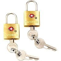 Lord&Taylor Deal: SAMSONITE Travel Sentry 2 Pack Brass Key Locks $2.80 (+ Shipping or Free Ship w/ Shoprunner)