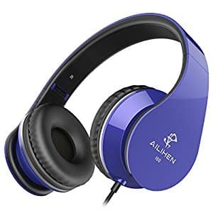 Foldable Bass Headphones with mic $9.99(50%off) FS w/Prime at Amazon