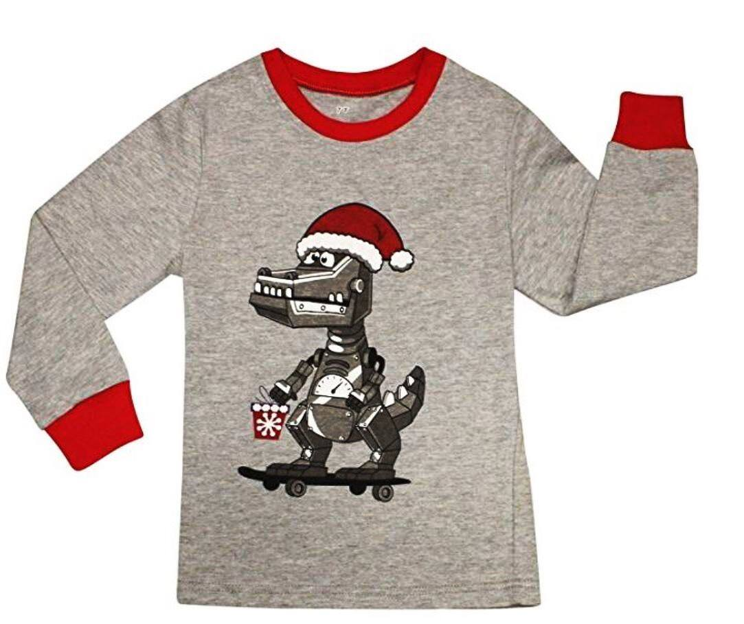 Kids Unisex Christmas Pajamas Sets 50% Off ($7.83-$8.96) FS w/Prime at Amazon