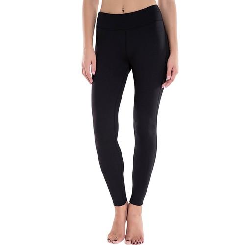 Houmous Women's Yoga/Workout/Running Pants/Leggings + Bonus Hidden Pocket (Black)  $9.59 [40% off] FS w/Prime at Amazon