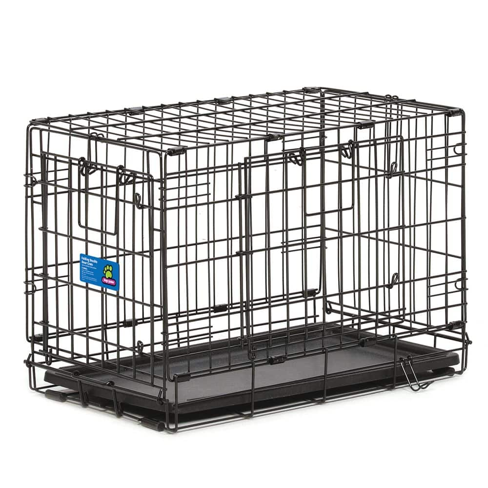 Top Paw® Double Door Wire Dog Crate, 36 inches $23.97