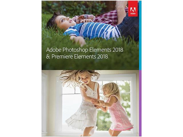 Adobe PhotoShop Elements & Premier Elements 2018 - $74.99