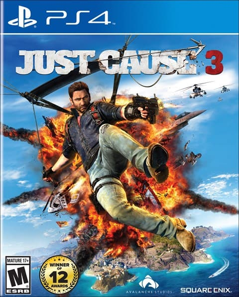 Gamefly used under $20 sale Just Cause 3 14.99 ps4