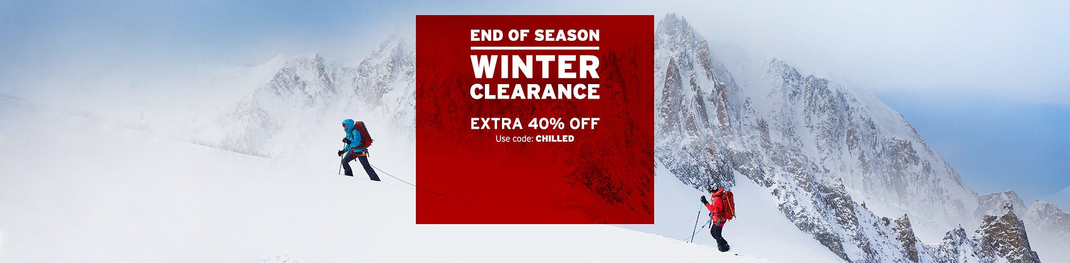 Eddie Bauer take an extra 40% off select winter items