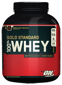 Optimum Nutrition Gold Standard 100% Whey Protein 5 lbs - $46.40 (+ tax) + Free shipping